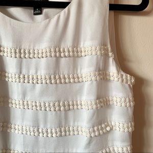 Ann Taylor Crochet Sleeveless Top
